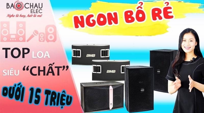 Loa karaoke JBL Ki510 Ba Sao (bass 25cm)