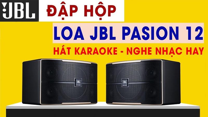 Loa karaoke JBL Pasion 12 (bass 30cm)