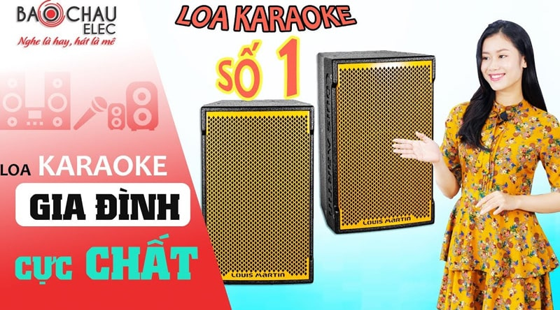 Loa Louis Martin Ktwo 10 Full bass 25