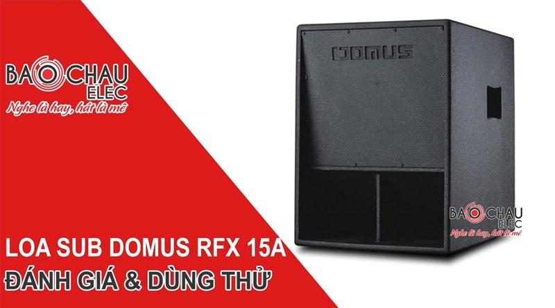 Loa Sub điện Domus 15W (EX 500A-bass 40)