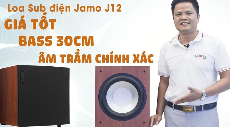 Loa Sub điện Jamo J12 (bass 30)