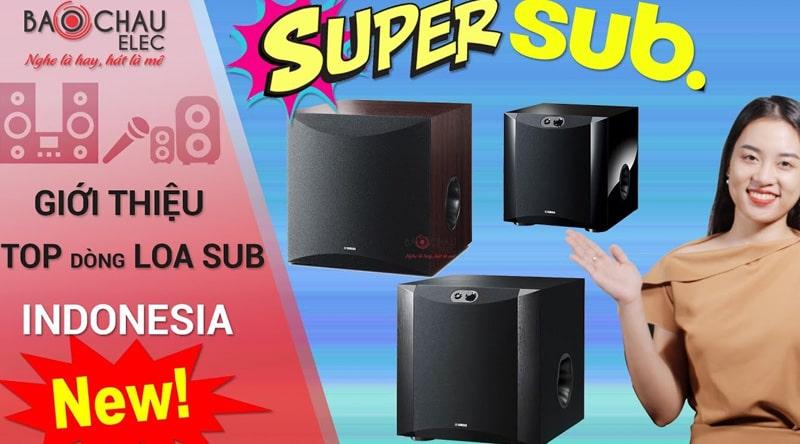 Loa Sub điện Yamaha NS-SW100 (Walnut-bass 25)