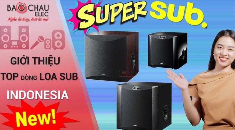Loa Sub điện Yamaha NS-SW200 (Black-bass 20)