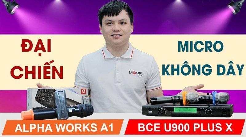 Micro không dây Alpha Works A1
