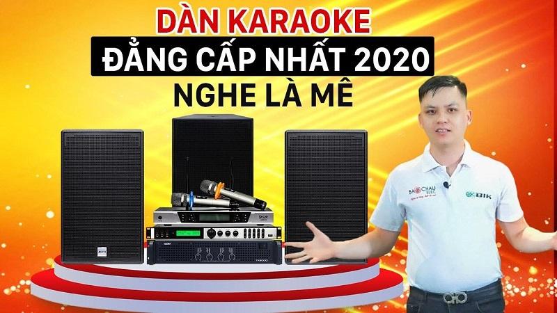 Dàn karaoke gia đình BC-T89GD