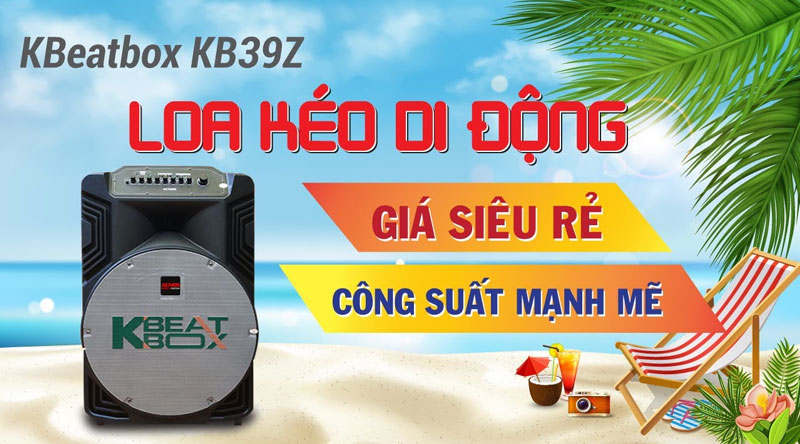Loa kéo KBeatbox KB39Z (bass 40cm)