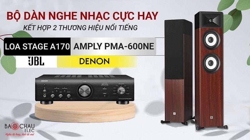 Amply Denon PMA-600NE