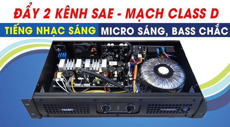 Cục đẩy công suất SAE CT3000 (version 2)