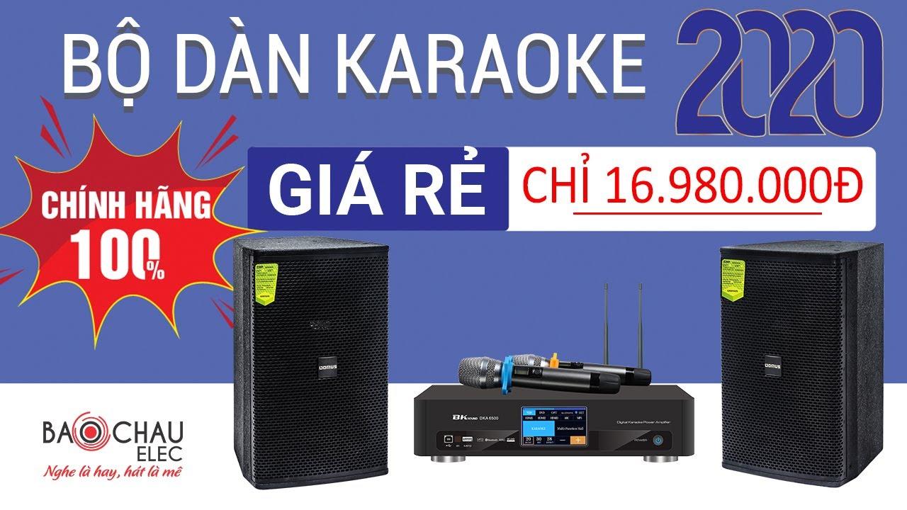 Dàn karaoke 01 (Domus DP6100 + BKsound DKA 6500)