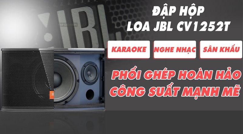 Loa karaoke JBL CV1252T (bass 30cm, New 2020-Ba Sao)