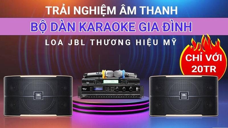 Loa karaoke JBL Pasion 10 (bass 25cm)