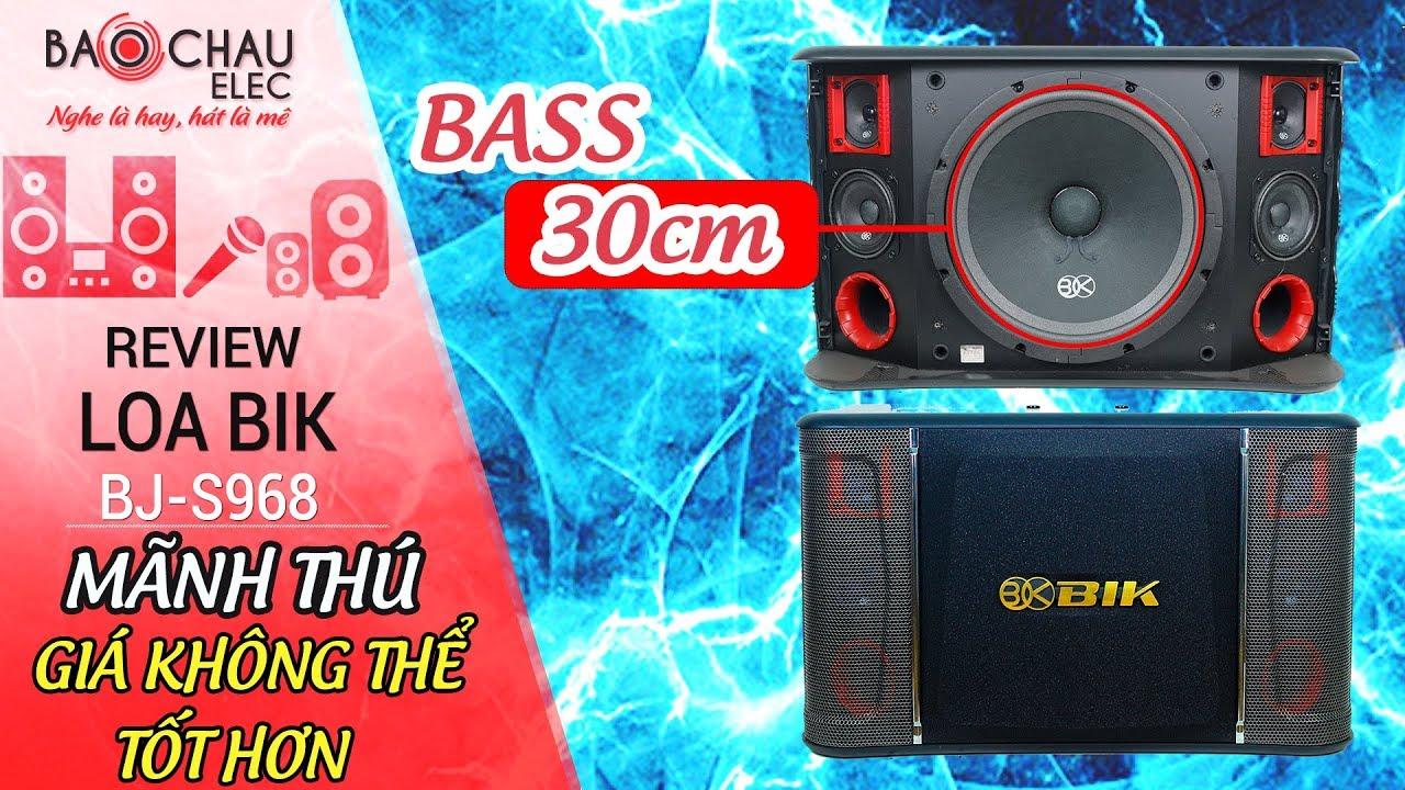 Loa karaoke Nhật BIK BJ-S968 (bass 30cm)