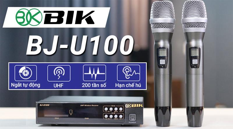 Micro không dây BIK BJ-U100 (Japan)