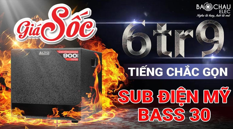 Loa sub điện Alto TX212S (bass 30)