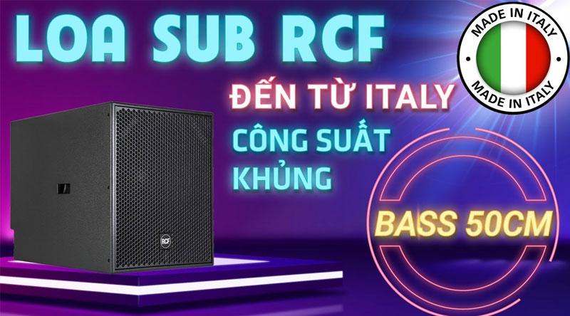 Loa sub hơi RCF S 8018 II (bass 50, SX: Italy)
