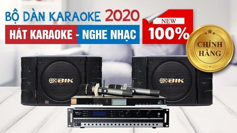 Dàn karaoke gia đình BC-T52GD