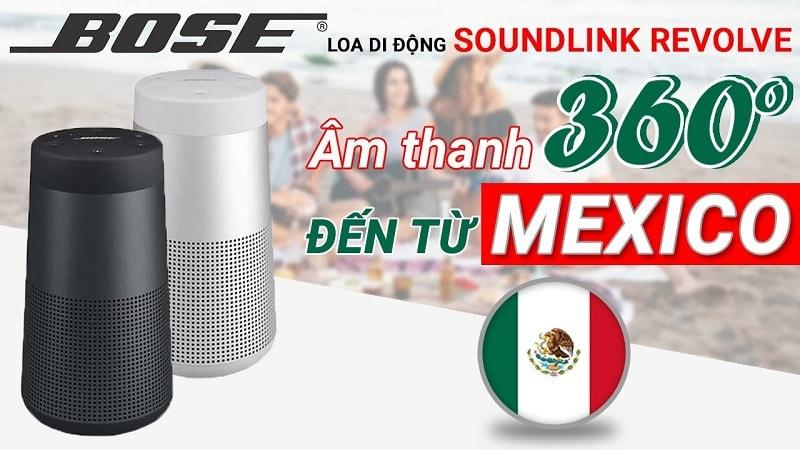 Loa di động Bose SoundLink Revolve