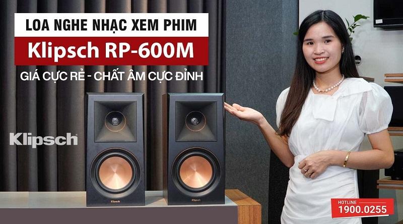 Loa nghe nhạc Klipsch RP-600M (Bookshelf)