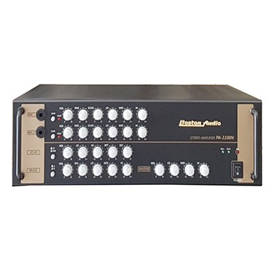 Amply karaoke boston audio pa 1100n