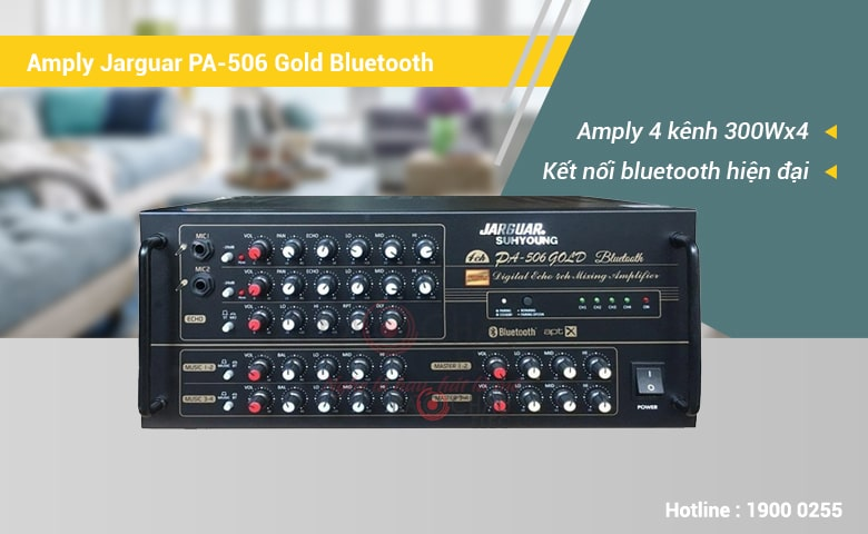 Amply Jarguar Suhyoung PA-506 Gold Bluetooth