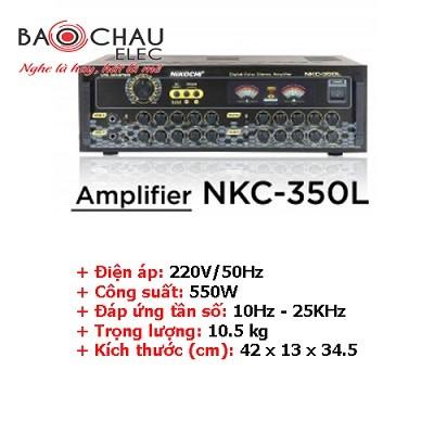 Amply karaoke Nikochi 350L