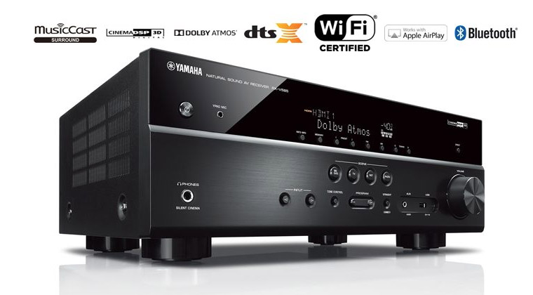 Amply Yamaha RX-V585 (Black)
