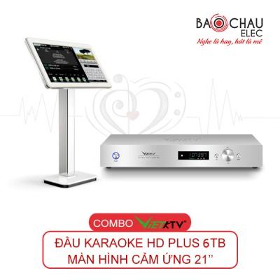 Combo Đầu Việt KTV HD Pro 6TB + màn 21 inch
