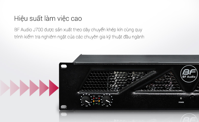 Cục đẩy BF Audio J700 tính năng 4