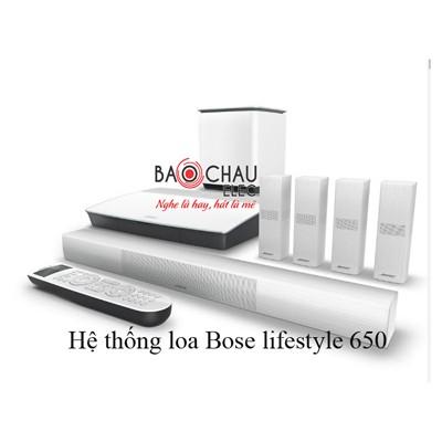 Hệ thống loa Bose lifestyle 650
