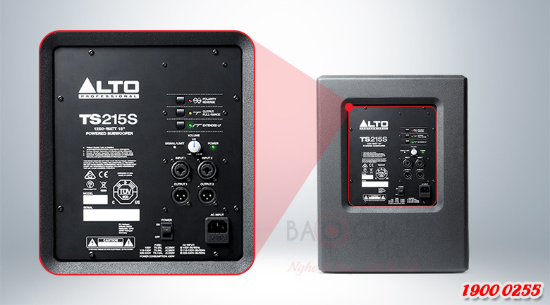 Loa Alto TS215S tính năng 2