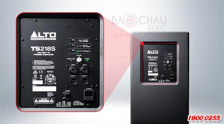 Loa Alto TS218S tính năng 2