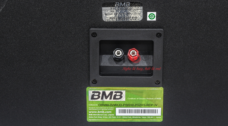 BMB CSD-880C like new mặt sau 2