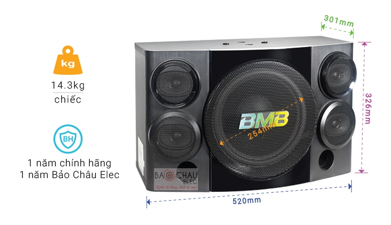 Loa BMB CSE-310(SE) - thông tin cơ bản