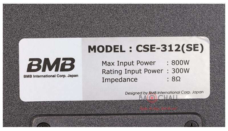 Loa BMB CSE 312 SE mặt sau 3