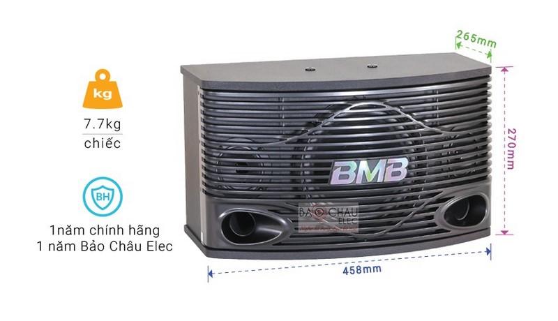 Thông số chính của loa BMB CSN-300(SE)
