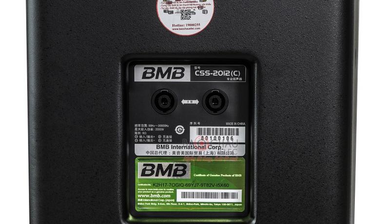 Loa BMB CSS 2012 (C) like new 5