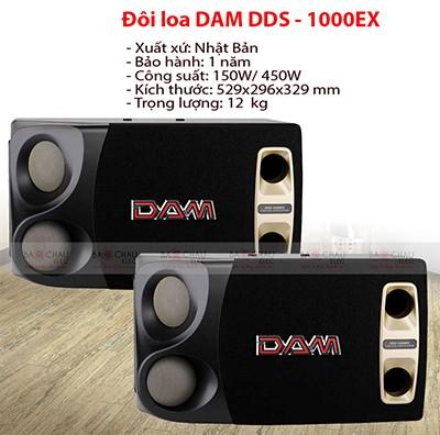 Loa DAM DDS1000 EX