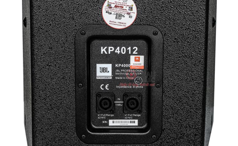 Thông số kỹ thuật loa JBL KP 4012