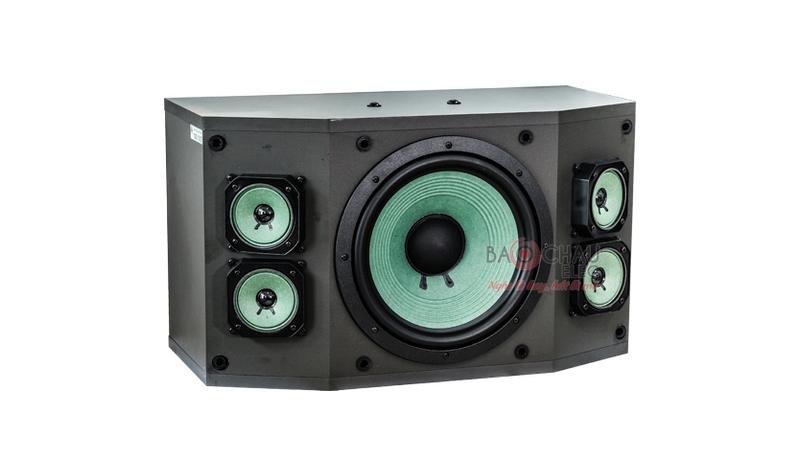 Loa karaoke Paramax P1000 New 2018 mặt trước 1