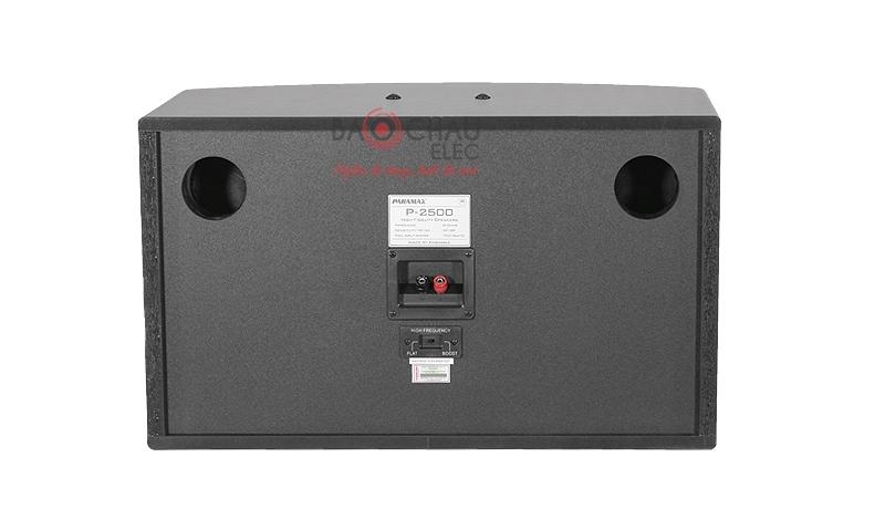 Loa karaoke Paramax P2500 mặt sau