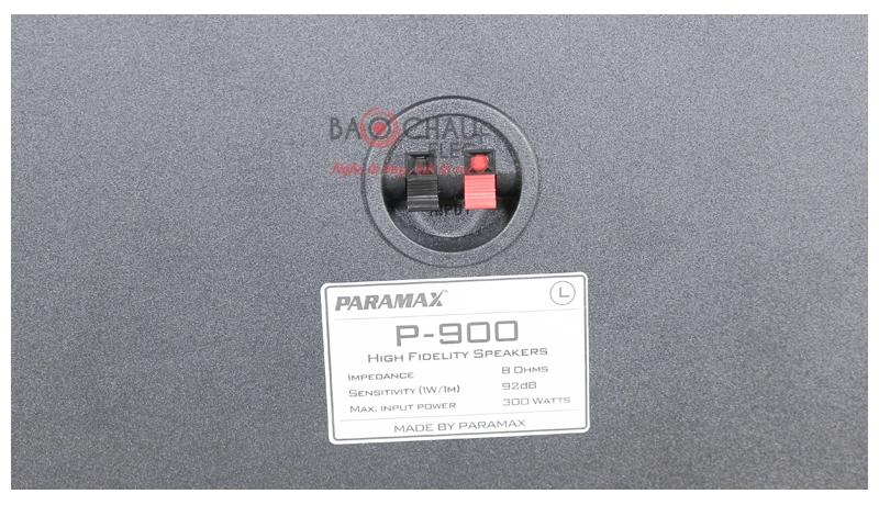 Loa karaoke Paramax P900 mặt sau 3
