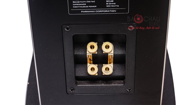 Loa Paramax D1800 cổng kết nối
