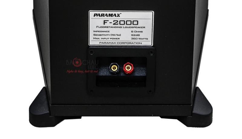 Cổng kết nối Loa treble của loa Paramax F2000 New