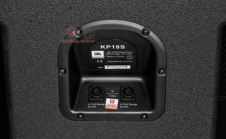 Sub hơi JBL KP18S cổng kết nối