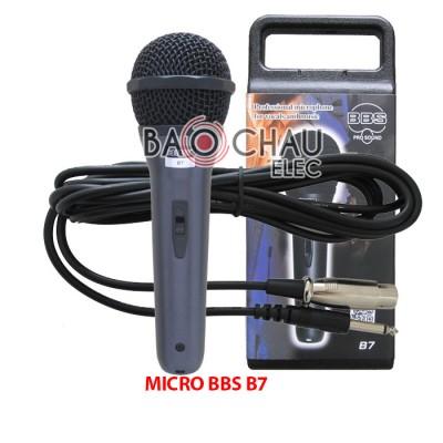 Micro BBS B7