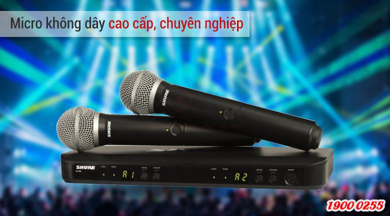 Micro Shure BLX288A/SM58 chính hãng giá tốt
