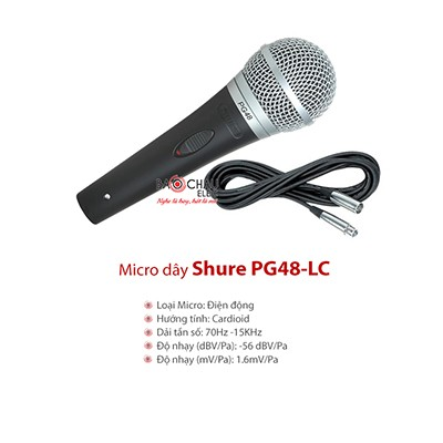 Micro Shure PG48 - LC