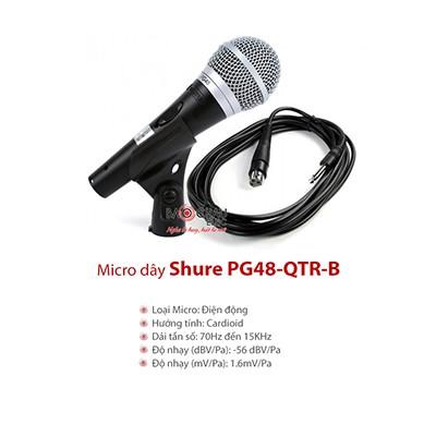 Micro Shure PG48-QTR-B
