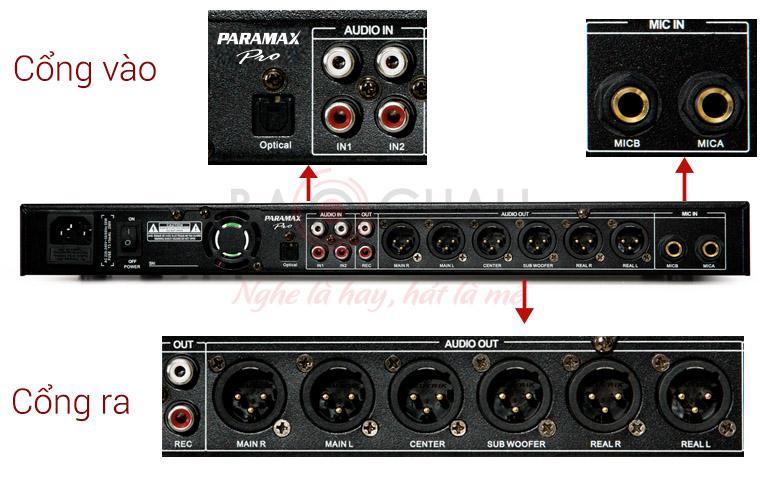 Vang số Paramax Pro MX-2000 new tính năng 3