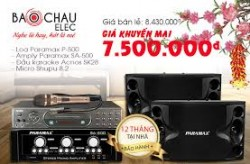 Bán dàn karaoke gia đình giá tầm 7 triệu